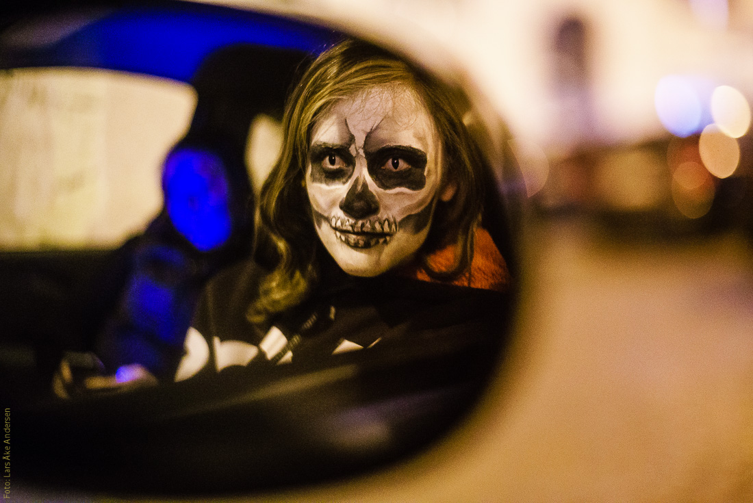 Portraits from Halloween in Trastevere (Rome/Italy)